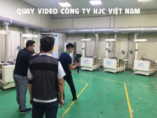 Quay video cho công ty HJC 3